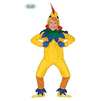 Hahn Kostüm Huhnkostüm Hühner Kinderkostüm