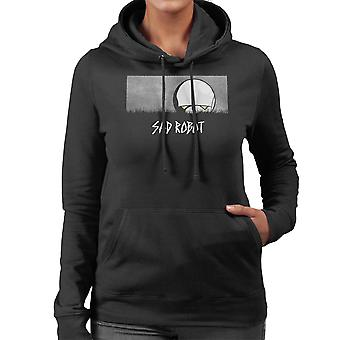Sad Robot Marvin Hitchhikers Guide To The Galaxy Women's Hooded Sweatshirt