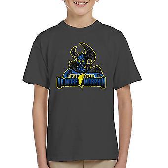 No More Morphin Matacore Power Rangers Kid's T-Shirt