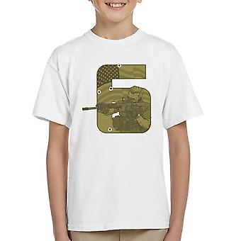Seal Team Six Call Of Duty Kid's T-Shirt