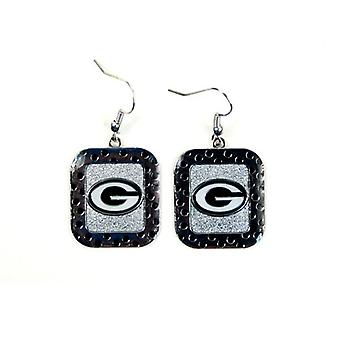 Green Bay Packers NFL maillot à pois Style boucle d'oreille