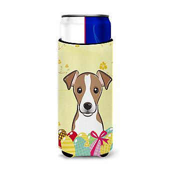 Jack Russell Terriër Easter Egg Hunt Michelob Ultra drank isolator voor slim