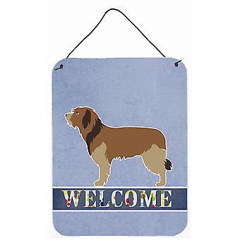 Catalan Sheepdog Welcome Wall or Door Hanging Prints