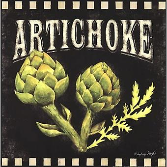 Artichoke Poster Print by Sydney Wright (12 x 12)