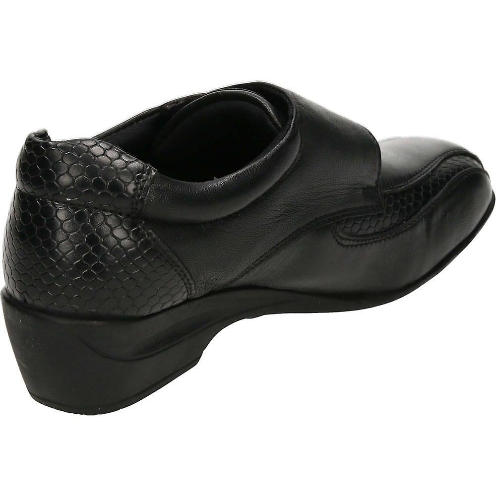 Wygodne buty skórzane Dr Keller Black Vpc3f