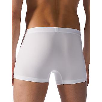 Mey 41521-101 Men's Cool White Solid Colour Fitted Boxer