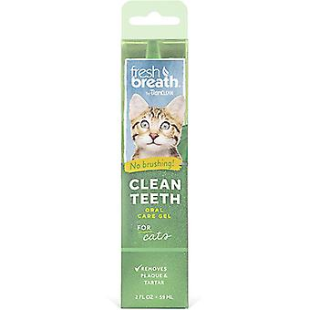 Tropiclean Fresh Breath Clean Teeth Gel For Cats