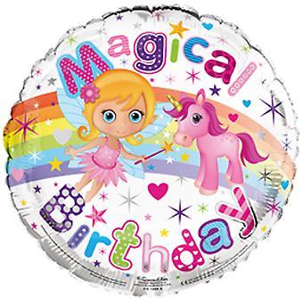 Simon Elvin 18 tums magisk födelsedag folie ballong