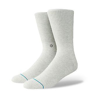 Stance Fashion Icon Crew Socks in Grey