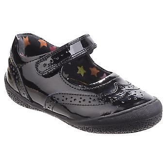 Hush Puppies Girls Rina Patent Leather Mary Jane Smart School Shoes
