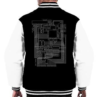 Apple I Computer Schematic Men's Varsity Jacket