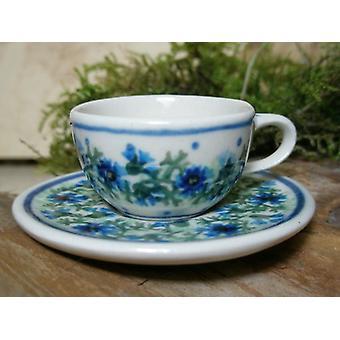 Kopp med fat, miniatyr, tradition 7, Bunzlauer keramik - BSN 6930