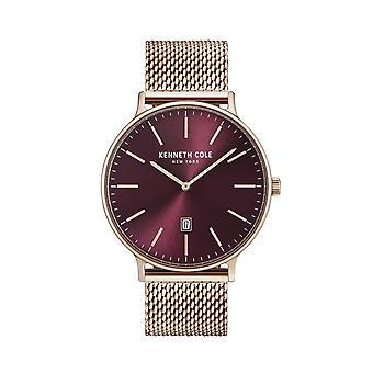 Kenneth Cole New York men's watch wristwatch stainless steel KC15057010