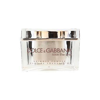 Dolce & Gabbana 'Die Rose' Shimmer Powder 0,91 Oz/26 ml neu In Box