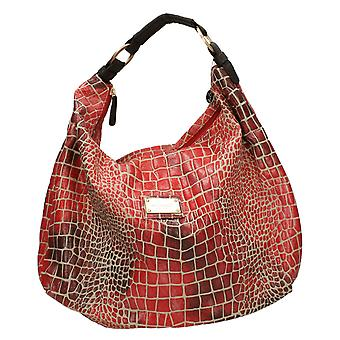 Ladies Bulaggi Croc Effect Large Handbag 24413