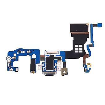 Samsung Galaxy S9 G9600 korjaus latauksen pistorasiaan mikrofoniliitäntä Flex uusi moduuli
