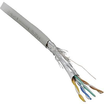 BKL Electronic 10010803 Network cable CAT 5e SF/UTP 8 x 0.128 mm² Grey 100 m