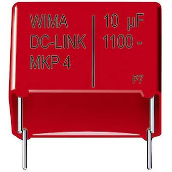 Wima DCP4P045006ID2KSSD 1 pc(s) MKP dunne filmcondensator Radiale lood 5 μF 1100 V DC 20 % 37,5 mm (L x W x H) 41,5 x 20 x 39,5 mm