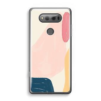 LG V20 transparant Case (Soft) - zaterdag Flow