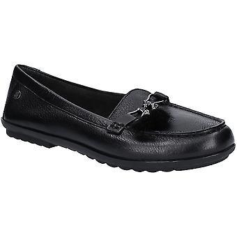 Hush Welpen Womens Aidi Blätterteig Slip Leder Loafer Schuhe