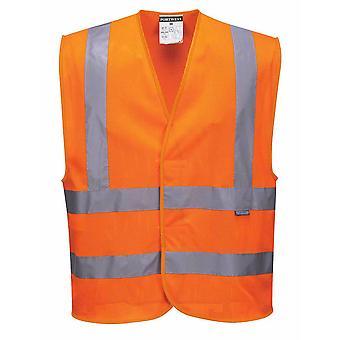 sUw - gilet de bande & Brace MeshAir Hi-Vis sécurité Workwear