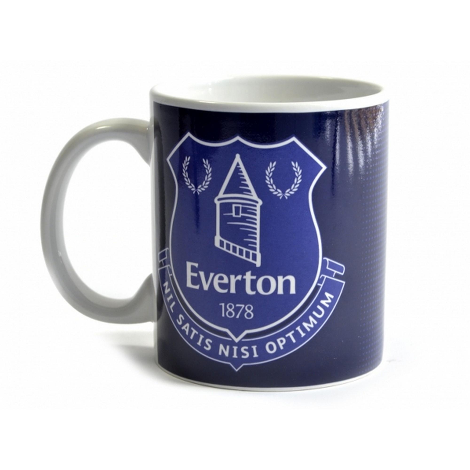 Everton Halftone 0.3kg Boxed Mug