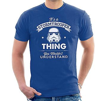 Original Stormtrooper Its A Trooper Sache Männer T-Shirt