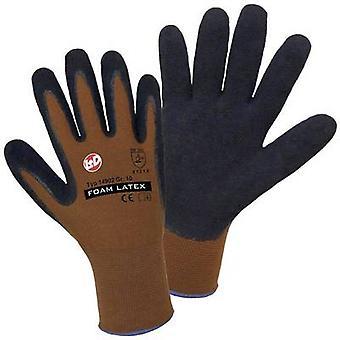 L+D worky Nylon Latex FOAM 14902-BN Nylon Protective glove Size (gloves): 10, XL EN 388:2016 CAT II 1 Pair