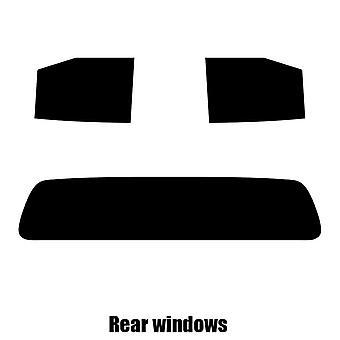 Pre corte tintado - ventanas de Nissan Navara - 2014 y nuevos - posterior