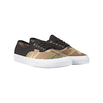 Vans California Authentic Shoes - Black (multicamo)