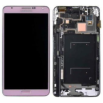Display LCD Komplettset GH97-15107C Pink / Rosa für Samsung Galaxy Note 3 N9000 N9005
