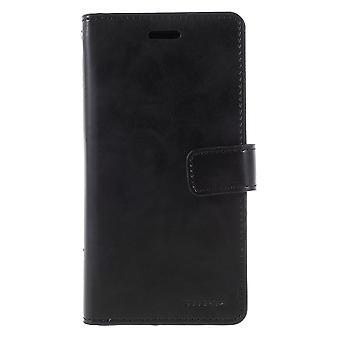 iPhone X/XS Mercury Goospery Mansoor Wallet Case-Black