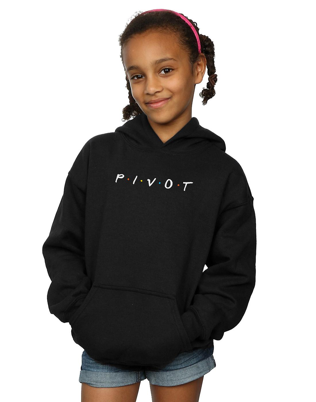 Friends Girls Pivot Logo Hoodie