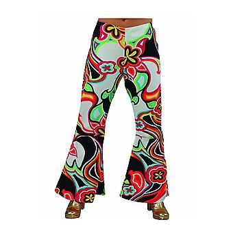 Vrouwen kostuums Hippie disco broek fantasie