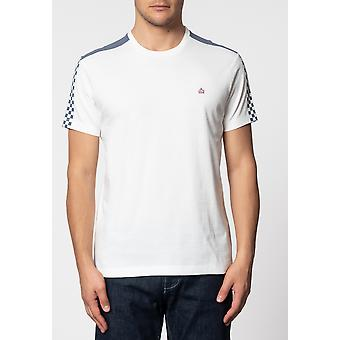 Merc HILLGATE, ska print T-shirt with short sleeves and round neck collar