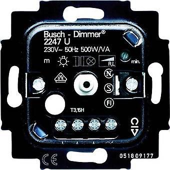 Busch-Jaeger wstawić ściemniacz Duro 2000 SI liniowy, Duro 2000 SI, Reflex SI liniowe, Reflex SI, Solo, Nea alfa, alfa exclusiv, przyszłość liniowe, Impuls, zwykły