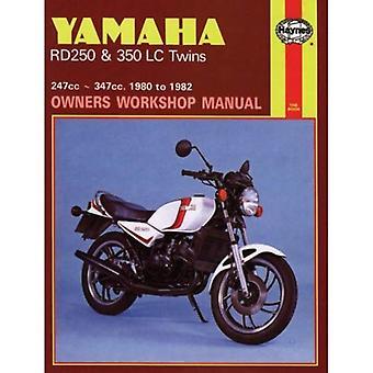Manuel d'atelier Yamaha RD250LC et du propriétaire de jumeaux RD350LC (moto manuels)