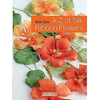 A-Z Seidenband Blumen