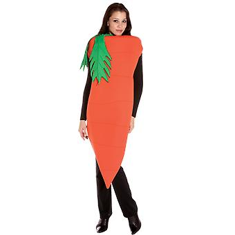 Adult Carrot Food Easter Novelty Funny Fancy Dress Costume