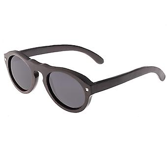Earth Wood Sunset Polarized Sunglasses - Espresso/Black