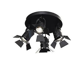 Ideal Lux - Ciak nero quattro luce a filo IDL095707