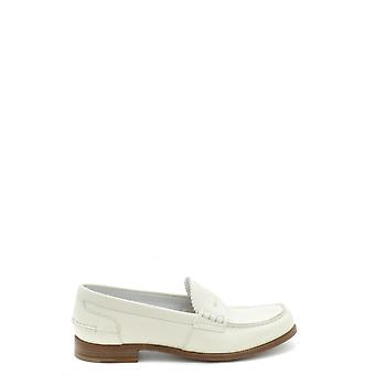 Church's Ezbc004059 Women's White Leather Loafers