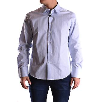 John Richmond Ezbc082108 Men's Light Blue Cotton Shirt