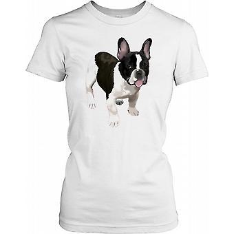 Ranskanbulldoggi - Cool seurakoira naisten T-paita