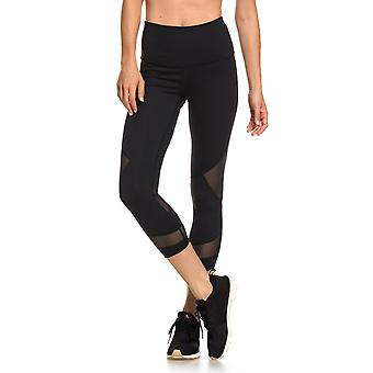 Roxy Womens Diamond Hunter Dryflight Tech Capris Pants - True Black