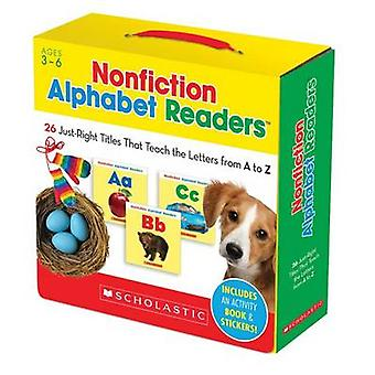Nonfiction Alphabet Readers - 26 Just-Right Titles That Teach the Lett