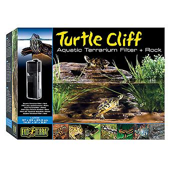 Exo Terra Turtle Cliff & Filter - Large