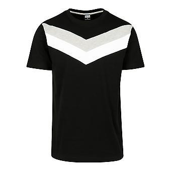 Urban Classics Men's T-Shirt Arrow Panel