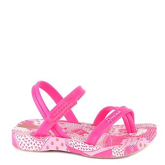 Ipanema Baby Fashion Bright Pink Kitty Sandal