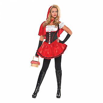 Womend Sexy Riding Hood Adult Costume